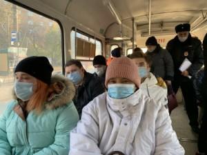 За месяц составлено 49 протоколов на пассажиров без масок в общественном транспорте Самары