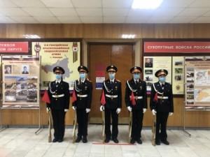 В Самаре прошёл XIII областной смотр часовых Постов