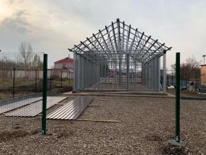 Для будущего ФАПа в селе Николаевка Волжского района уже подготовили каркас, провели коммуникации и начали благоустройство.