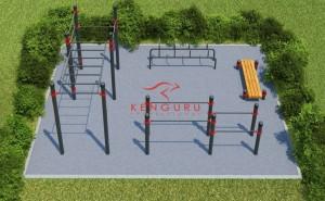 Спортплощадки с зонами workout обустроят на территориях общего пользования.