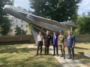 В Самаре на Московском шоссе появится еще один памятник-самолет