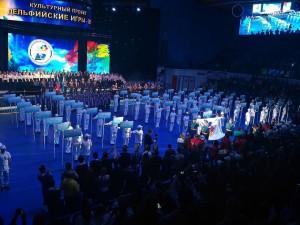 В Играх принимают участие 1706 человек в составе делегаций из 72 субъектов Российской Федерации.