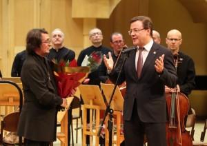 Для любителей музыки прозвучали инструментальные сочинения Эдварда Грига, Петра Чайковского и современного композитора Кузьмы Бодрова.