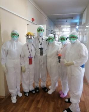 начало работу перепрофилированное отделение Сызранской городской больницы №2