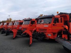 С наступлением зимы в общей сложности для уборки последствий снегопадов и гололедицы планируется задействовать 777 специализированных машин.