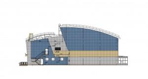 Сейчас получено положительное государственное заключение на проект ФОКа в Прибрежном. Срок строительства - 9 месяцев.