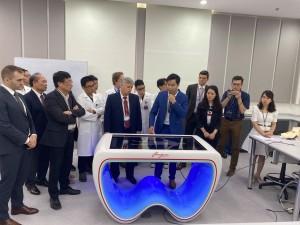 Самарский интерактивный анатомический стол «Пирогов» будут использовать во вьетнамском университете