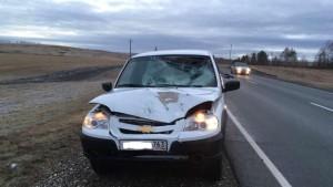 Водитель одного из автомобилейпытался скрыться с места ДТП, но его быстро нашли.