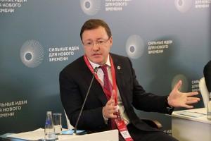Дмитрий Азароввыступил на сессии «Клуб губернаторов: драйверы технологического развития в регионах».