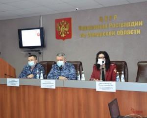 В Самаре состоялось совместное совещание представителей Росгвардии и Роспотребнадзора с руководителями частных охранных организаций