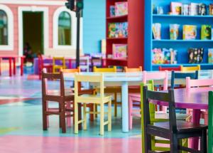 В ближайшей перспективе в здании центра «Поиск» планируется открыть новый детский сад на 12 групп, в которых смогут заниматься более 200 воспитанников.