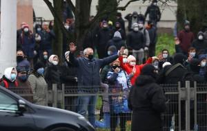 Большинство из них были взяты под стражу в Минске.