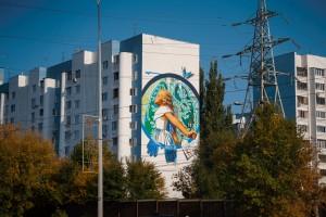 Сразу два мурала из Самарской области признаны лучшим в ПФО