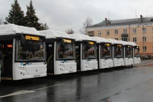 Автобусы на газомоторном топливе вышли на линии. Новые ЛиАЗ с символикой нацпроекта задействованы на двух муниципальных автобусных маршрутах.