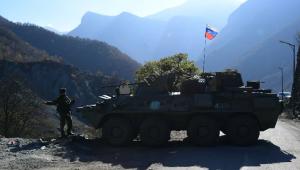 Жители непризнаннойНагорно-Карабахской республикиположительно отнеслись к российским миротворцам и возлагают на их помощь большие надежды.