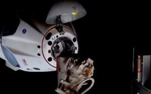 Корабль стартовал с мыса Канаверал во Флориде и доставил на станцию экипаж из трех американских и одного японского астронавтов.