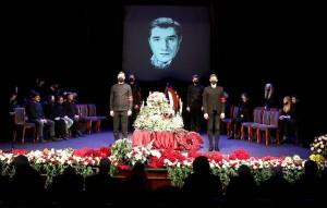 Артиста похоронят на Ваганьковском кладбище.