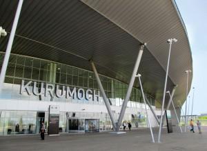 В сентябре пассажиропоток Курумоча упал на треть