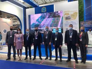 В экспозицию Самарской области вошли ключевые проекты, реализуемые в губернии.