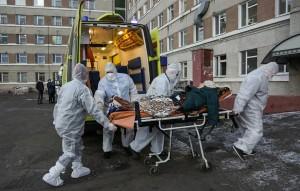 Количество инфицированных за сутки возросло на 23 610, это максимум за все время пандемии.