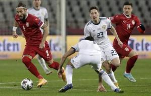 Российские футболисты накануне проиграли сербам в Лиге наций со счетом 0:5, потерпев самое крупное поражение за 16 лет.