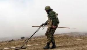 Глава Нацагентства по разминированию территорий Азербайджана сообщил, что предстоит обезвредить неразорвавшиеся боеприпасы и мины на 14 тыс. кв. км территорий.