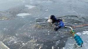 Около Чапаевска в Самарской области утонул рыбак