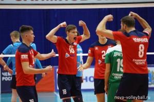В Новокуйбышевске завершился 4 тур российского чемпионата по волейболу высшей лиги «А»