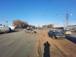 В ДТП в Самаре пострадали пешеход и пассажирка