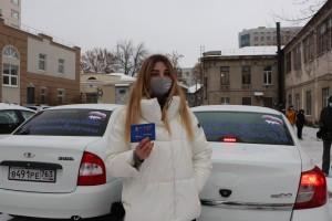 Первый снег и пробки на дорогах не смогли остановить начало акции «Поможем врачам вместе» Объединенного волонтерского центра Партии «Единая Россия».