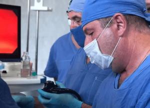Филигранная операция была проведена на базе отделения челюстно-лицевой хирургии педиатрического корпуса.