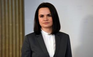 Она высказалась за дружественные и партнерские отношения с Москвой, отметив при этом, что суверенитет Белоруссии «не может быть предметом торга».