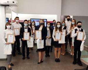 25 ноября состоялось торжественное вручение премий Губернатора Самарской области одаренным детям.