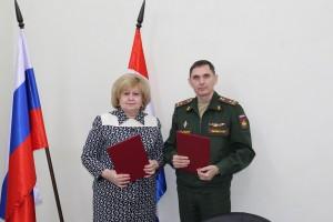 Подписано соглашение о взаимодействии и сотрудничестве между Уполномоченным по правам человека и военным комиссаром Самарской области
