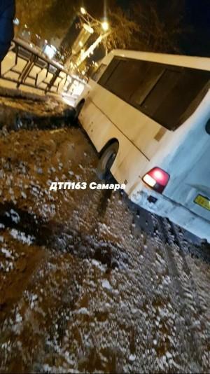 В Самаре водитель автобуса насмерть задавил пешехода