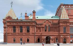 В Самаре архитектор показал новый эскиз реставрации драмтеатра