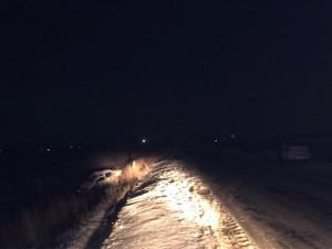Лада Гранта в Самарской области перевернулась в кювет, пострадали двое