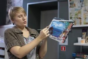 Экспозицию представит художник, арт-терапевт, руководитель мастерской арт-практик при СОЮБ Татьяна Хамина.