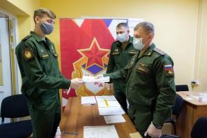 Командир спортивной роты филиала, майор Виталий Киктев отметил, что в спортивной роте были созданы все условия для службы и тренировок спортсменов.