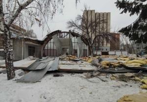 В Самаре снесли торговый павильон на пересечении Мичурина-Клинической