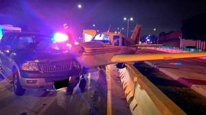 Из-за инцидента движение на автомагистрали было нарушено.