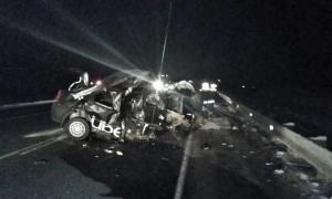 Под Самарой в страшной аварии погибло 4 человека, в том числе ребенок