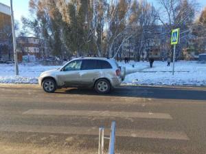 В Самаре водитель сбил сразу четверых пешеходов, включая детей