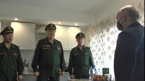 Под Самарой военнослужащие 2-й армии ЦВО поздравили с оркестром Героя Советского Союза