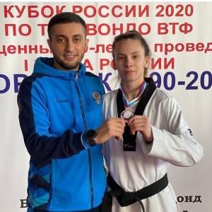 Тольяттинская спортсменка Ирина Рогозина завоевала серебро.