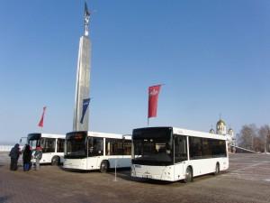 Самара получит в собственность 83 автобуса, троллейбуса и трамвая