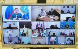 Дмитрий Азаровпровел заседание оперативного штаба СО.