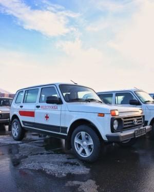 Самарским медикам передали 70 новых автомобилей «Нива»