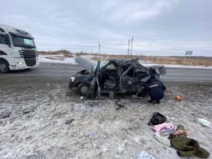 Водитель автомобиля и еще один пассажир – несовершеннолетняя девочка получили многочисленные травмы. Они госпитализированы.