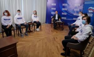 Волонтер - медик Николай Куликов вернулся из Москвы, где стал участником Социального форума «Единой России».
